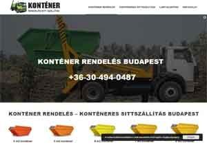 konténer rendelés Budapest