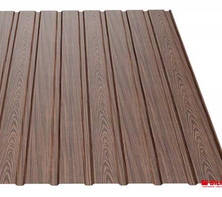 Wood horganyzott acéllemez